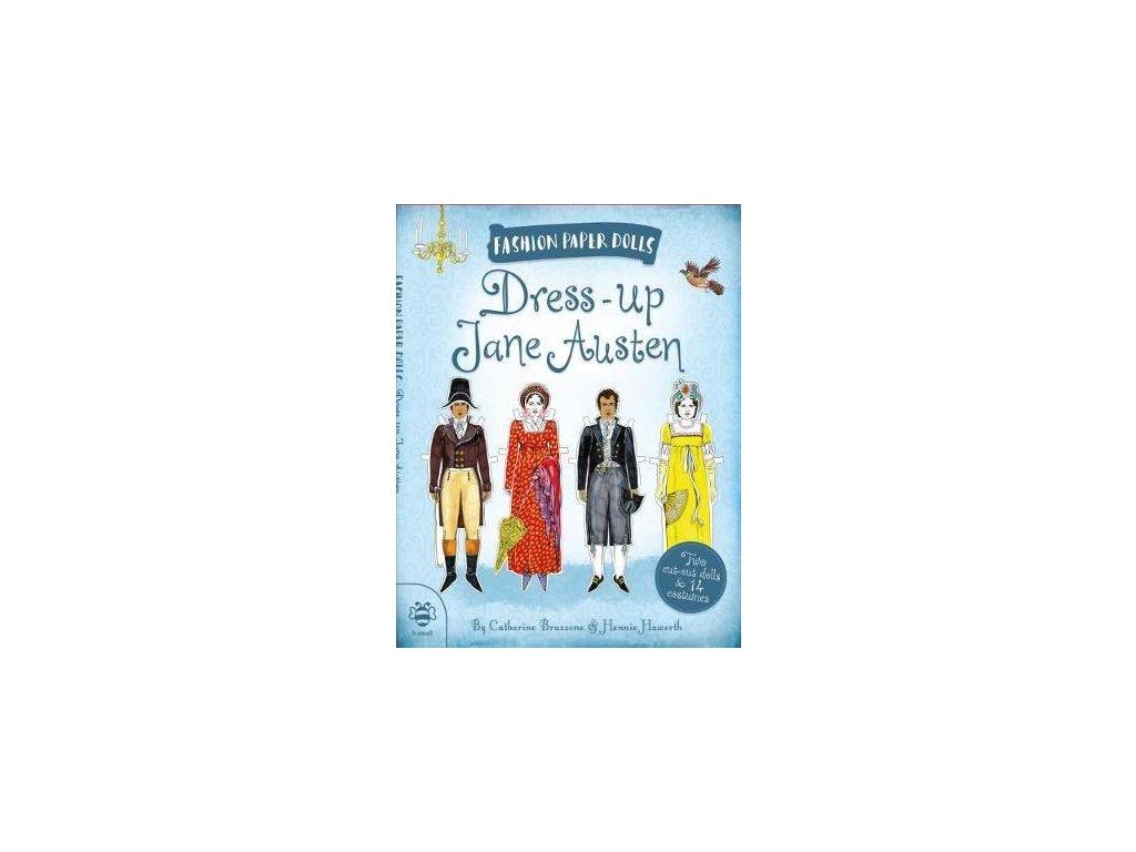2376 dress up jane austen paper dolls