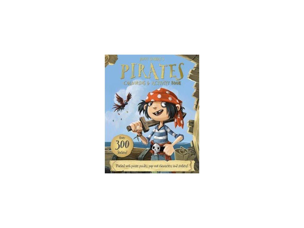 3147 jonny duddle s pirates colouring activity book