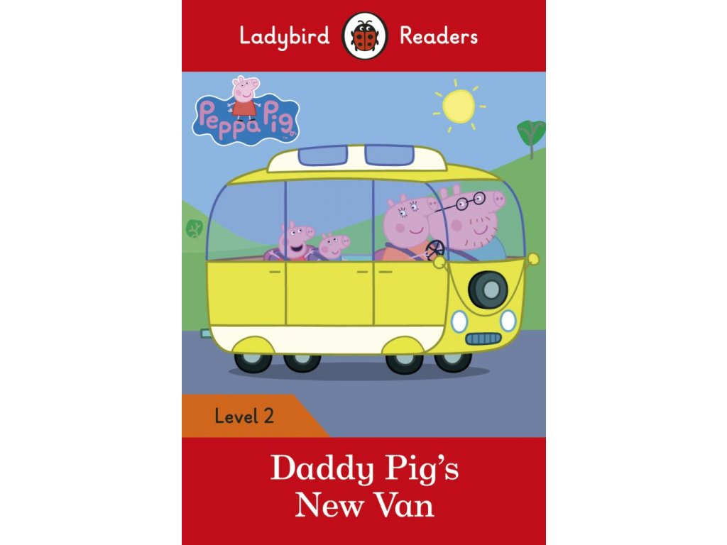 3231 peppa pig daddy pig s new van ladybird readers level 2
