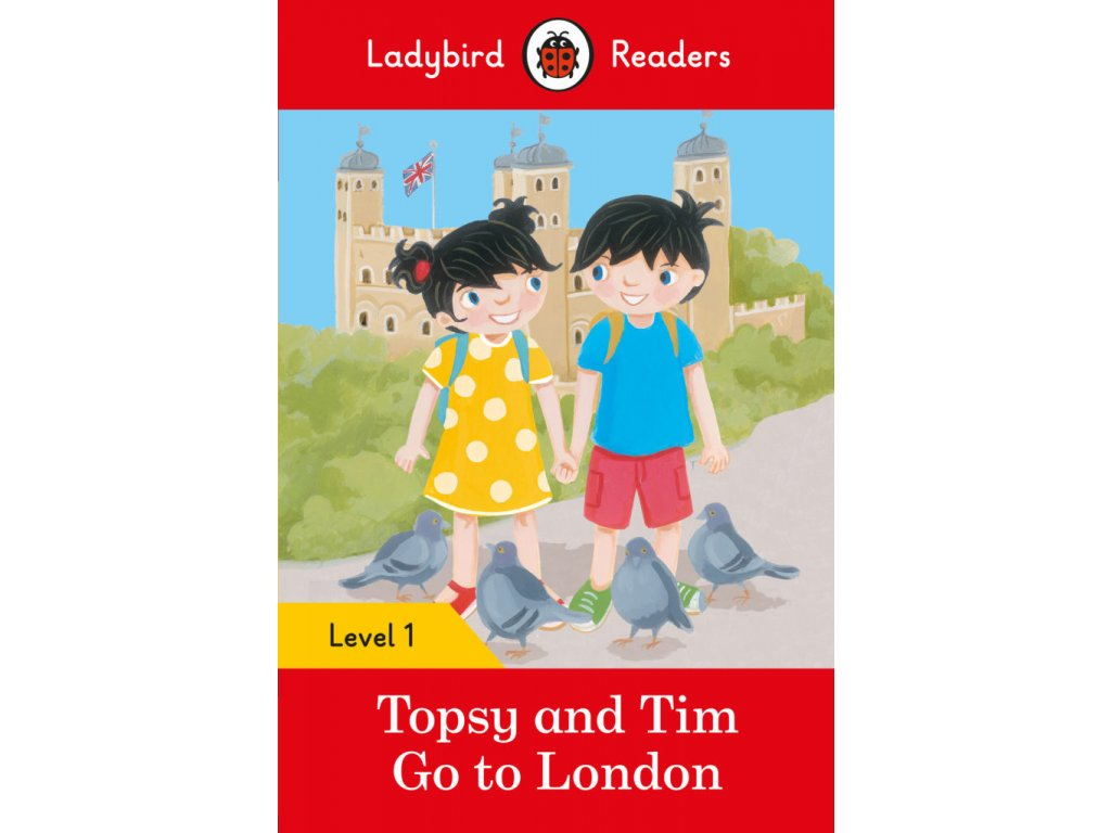 3288 topsy and tim go to london ladybird readers level 1