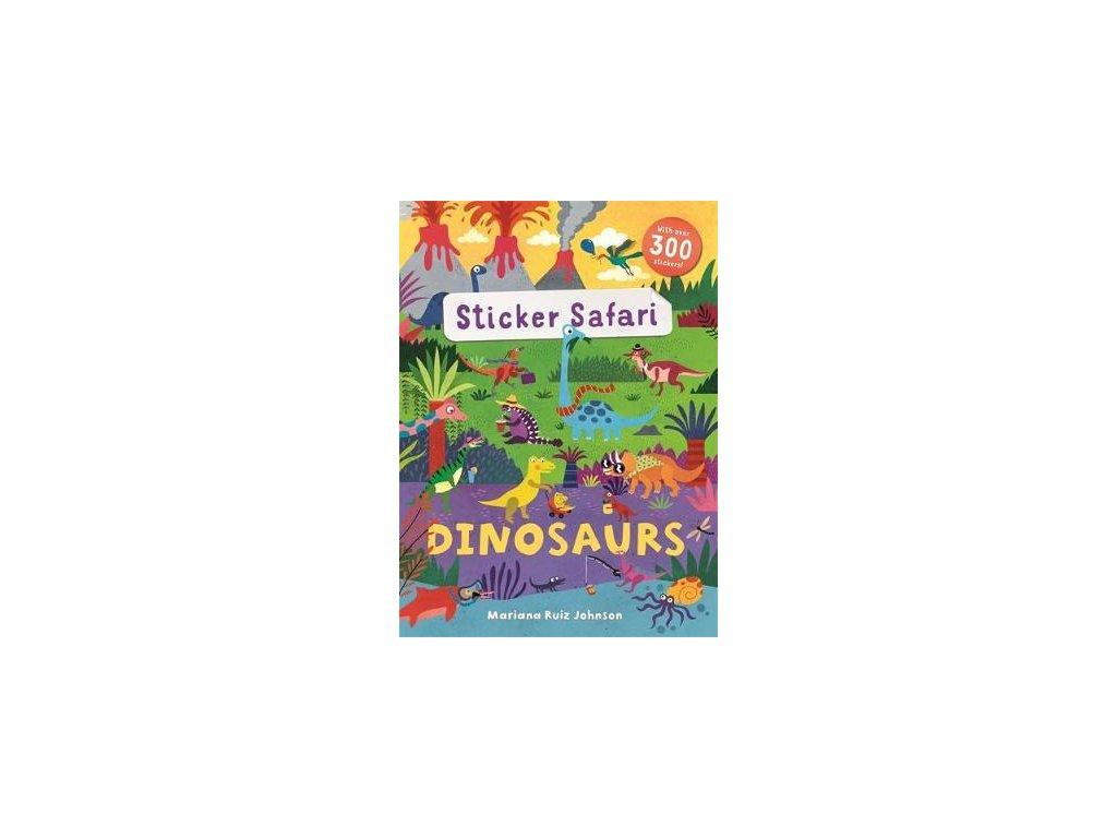 3909 sticker safari dinosaurs