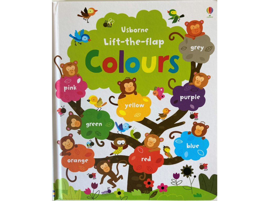 Lift-the-flap Colours