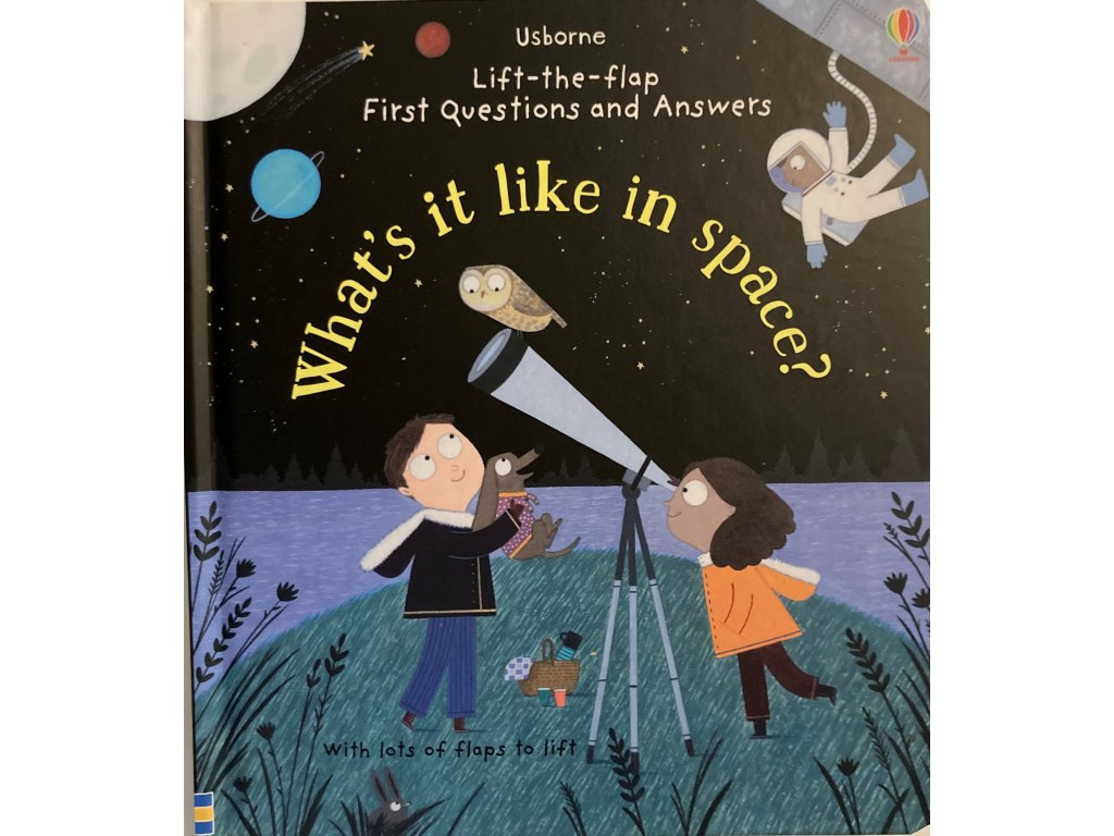 Lift-the-Flap First Questions and Answers What's it like in Space?