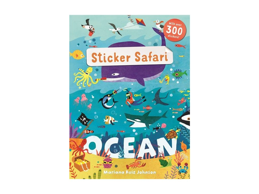 Sticker Safari Ocean