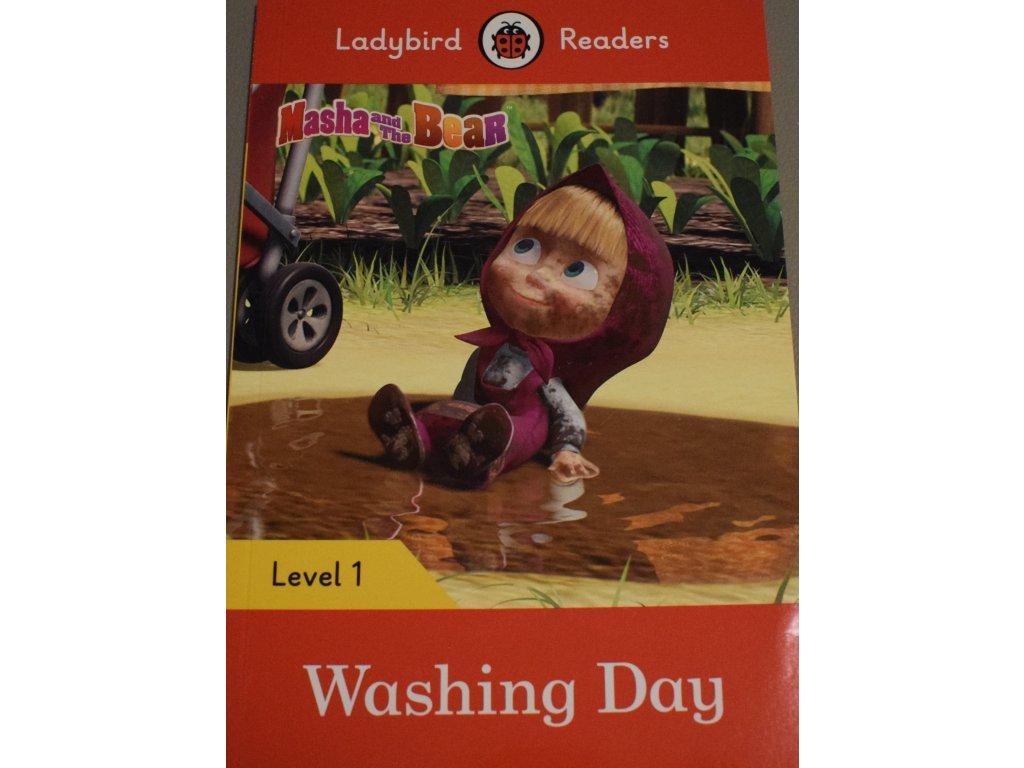 Masha and the Bear: Washing Day: Level 1 (Ladybird Readers)