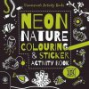 1500 neon nature colouring and sticker activity book