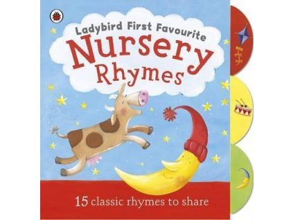 1293 ladybird first favourite nursery rhymes