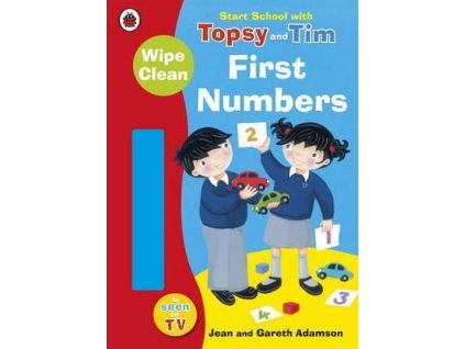 1302 start school with topsy and tim wipe clean first numbers