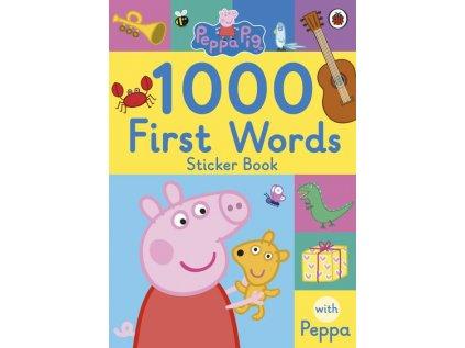2697 1000 first words sticker book