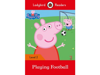 3237 peppa pig playing football ladybird readers level 2