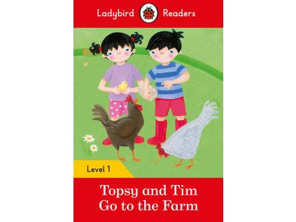 3291 topsy and tim go to the farm ladybird readers level 1