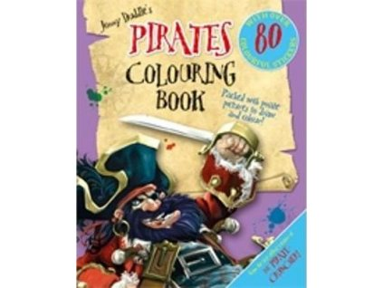 3684 jonny duddle s pirates colouring book