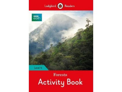 3822 bbc earth forests activity book ladybird readers level 4