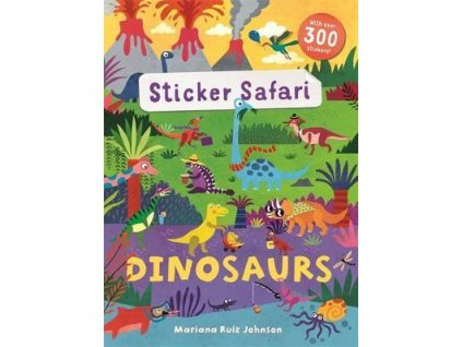 3909 sticker safari dinosaurs
