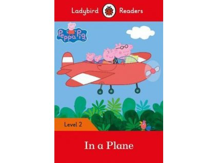 4991 peppa pig in a plane ladybird readers level 2