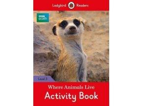 2724 bbc earth where animals live activity book