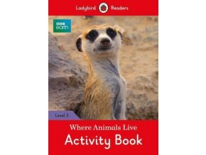 BBC Earth: Where Animals Live Activity Book