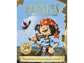 3147 jonny duddle s pirates colouring activity book