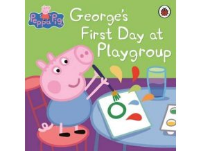 George's First Day at Playgroup Sticker Book