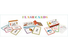 Flash Cards Three-letter words