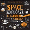 597 space explorer colouring and sticker activity book