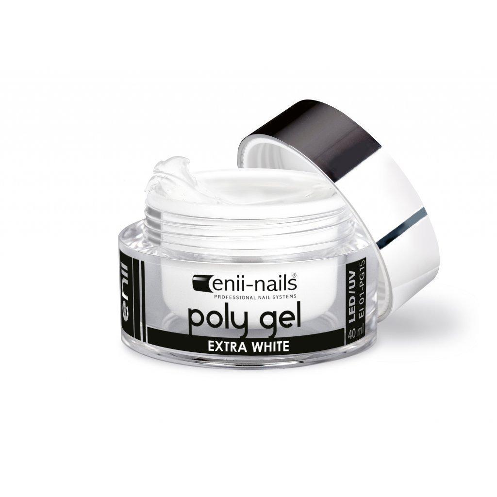 ENII POLY GEL - EXTRA WHITE 10 ML