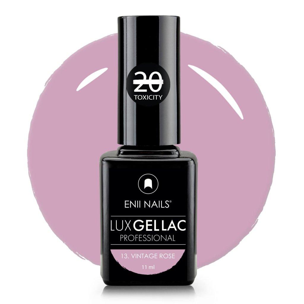 Lux Gel lac 13 Vintage rose