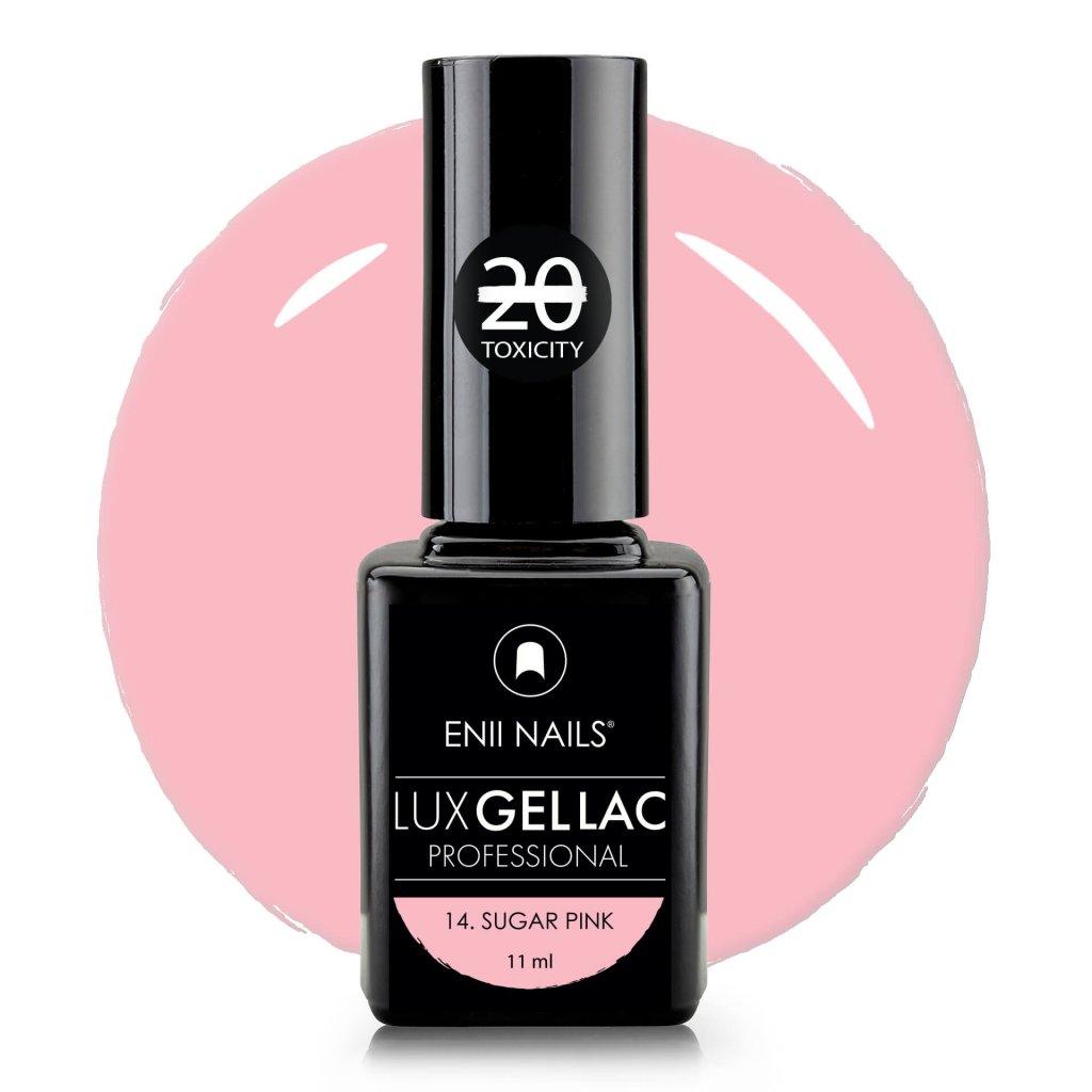 Lux Gel lac 14 Sugar pink