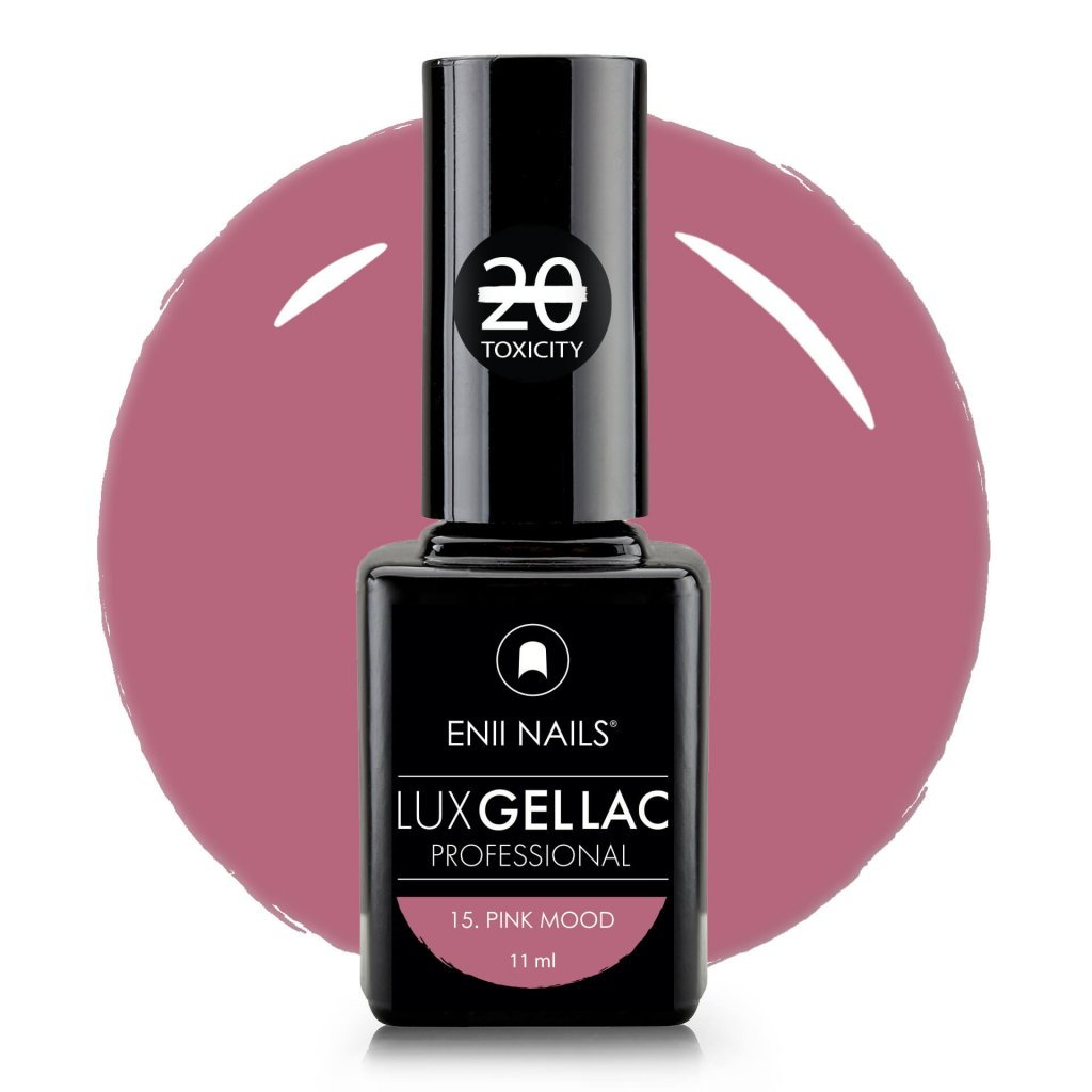 Lux Gel lac 15 Pink mood