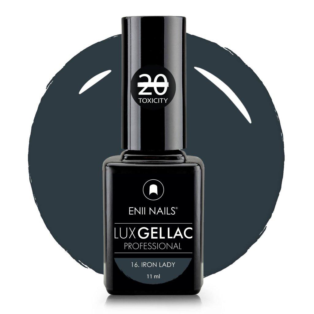 Lux Gel lac 16 Iron lady