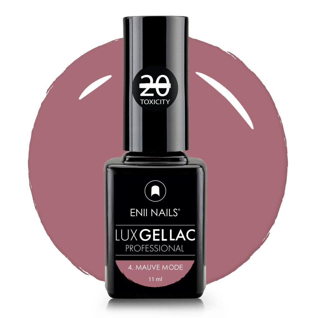Lux Gel lac 4 mauve mode