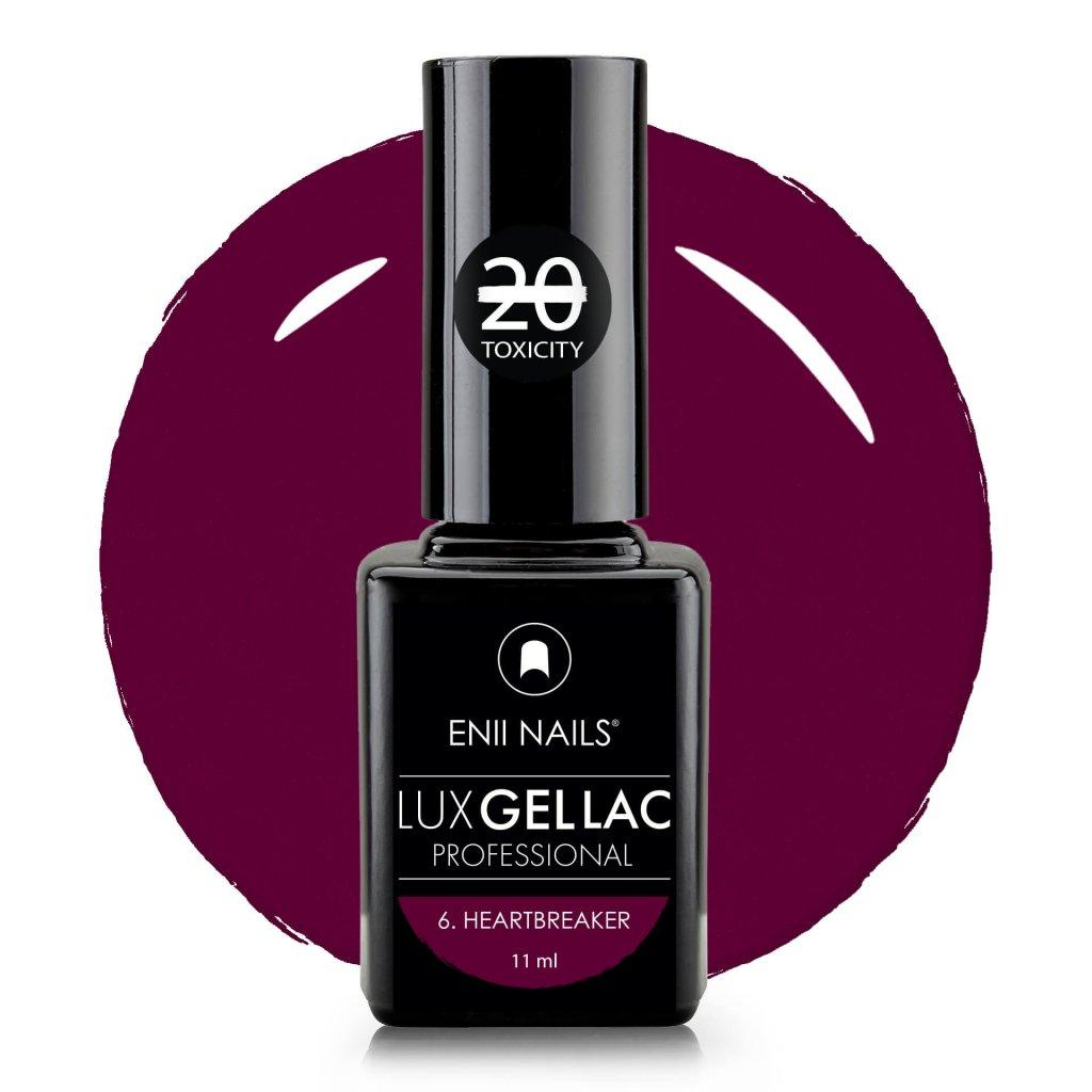 Lux Gel lac 6 Heartbreaker