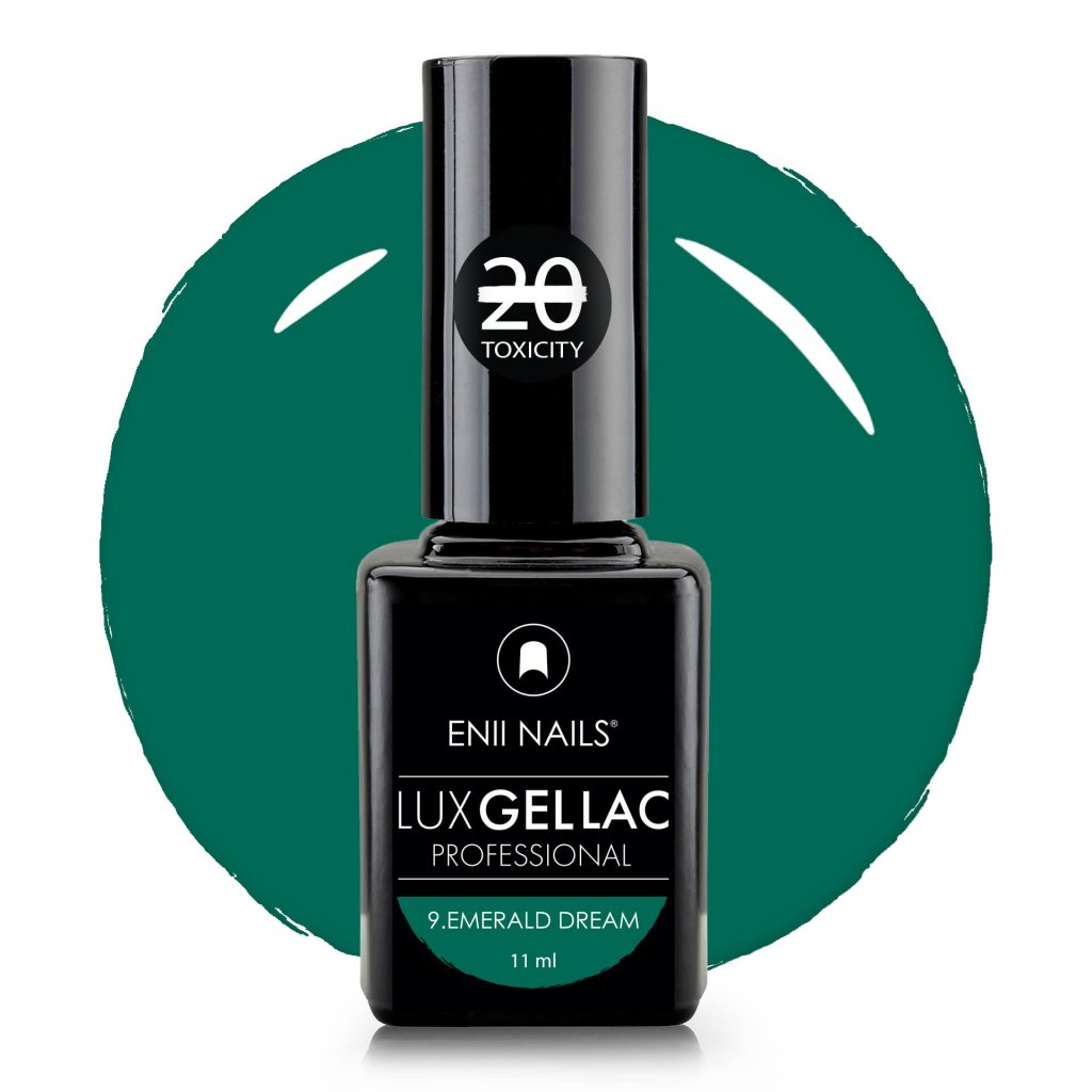 Lux Gel lac 9 Emerald Dream2