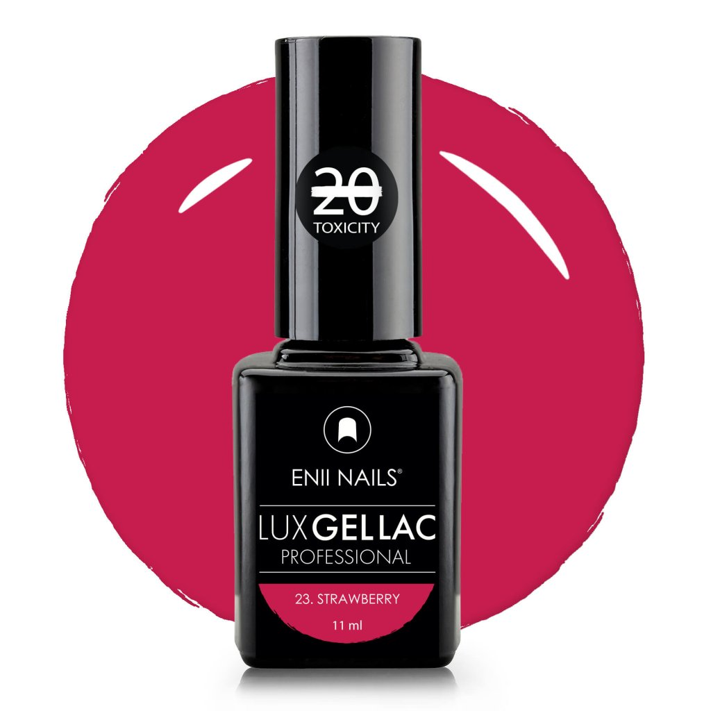 Lux Gel lac 23 Strawberry