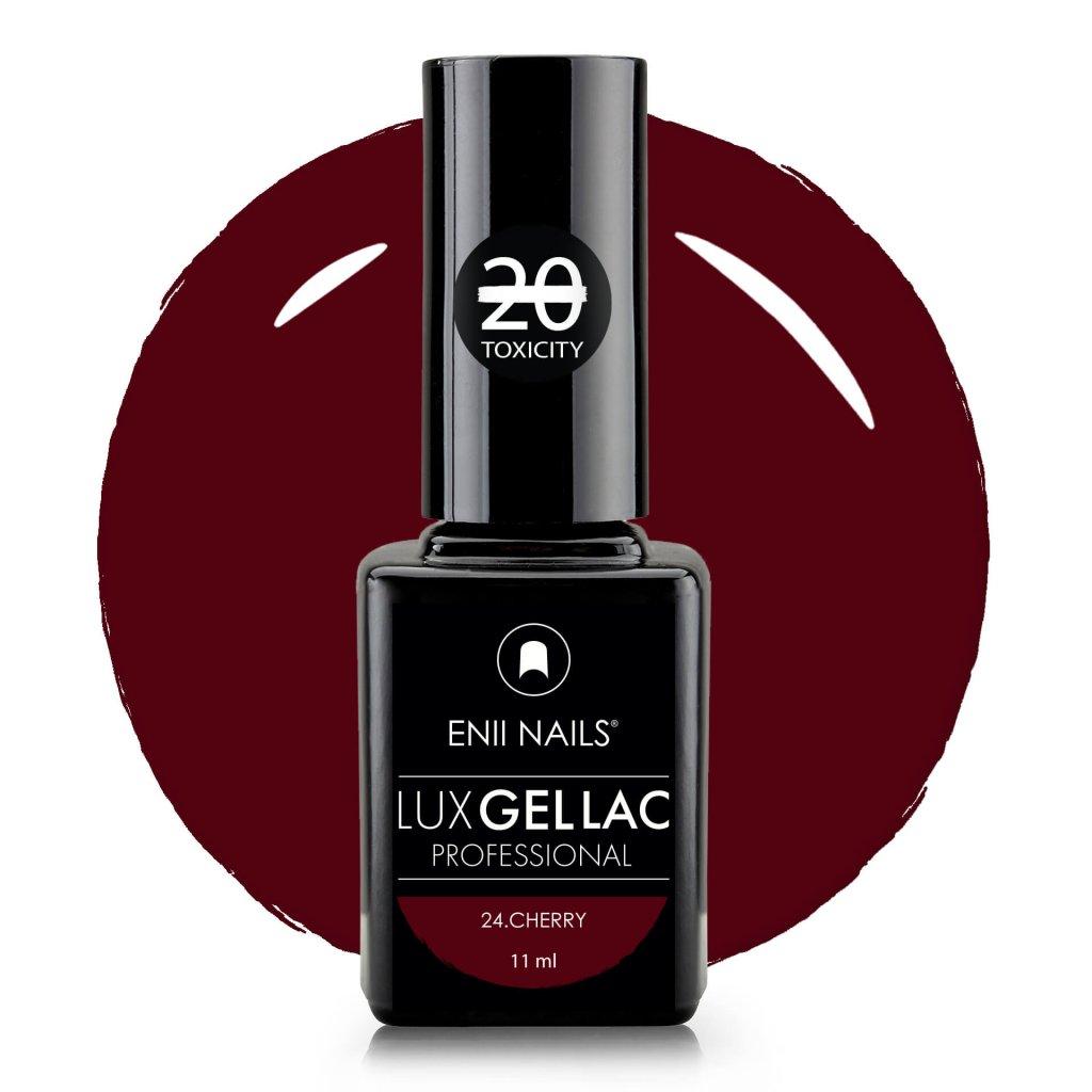 Lux Gel lac 24 cherry