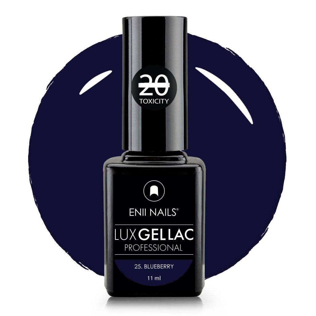 Lux Gel lac 25 Blueberry