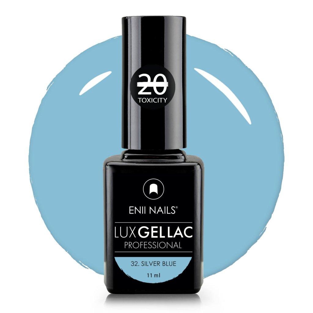 Lux Gel lac 32 Silver blue