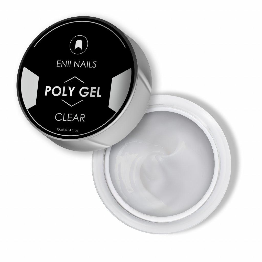 Enii poly gel clear 10 ml