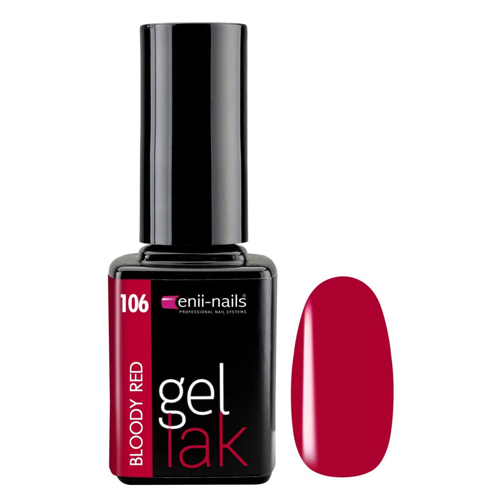 Gel polish 106. bloody red 11 ml