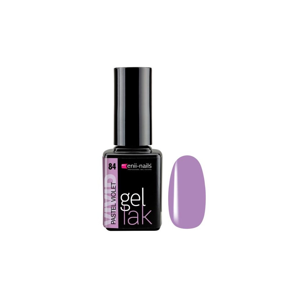 Gel polish 84. pastel violet 11 ml