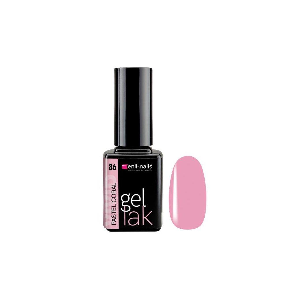 Gel polish 86. pastel coral 11 ml