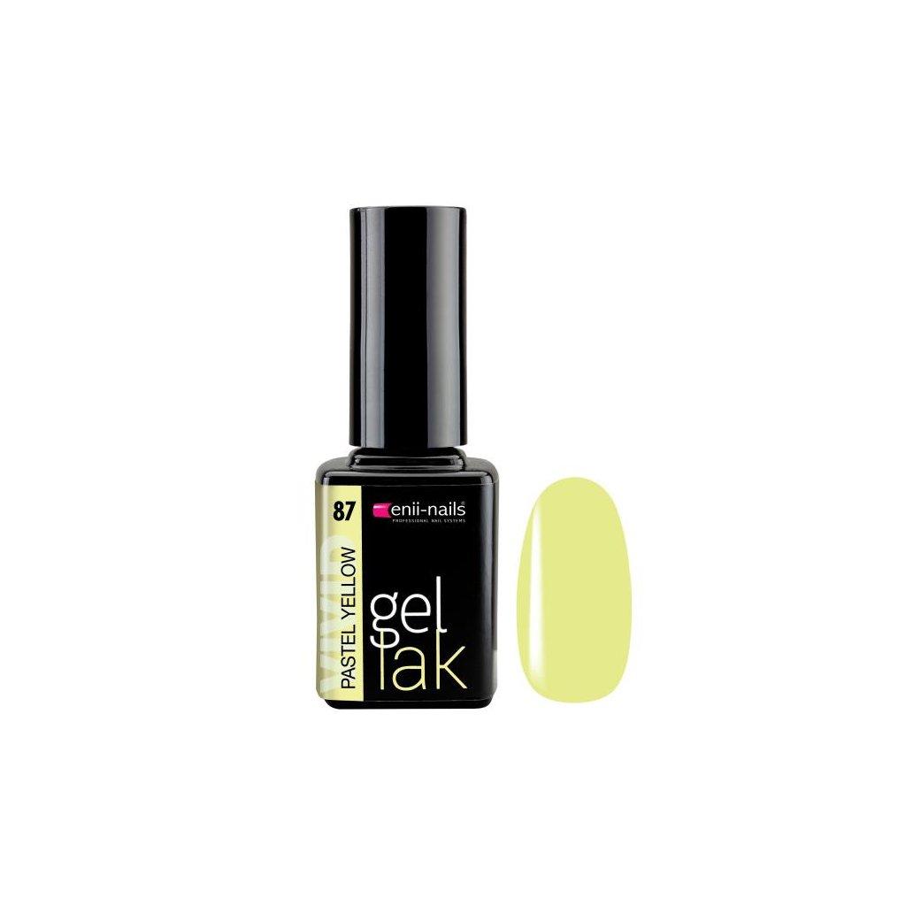Gel polish 87. pastel yellow 11 ml
