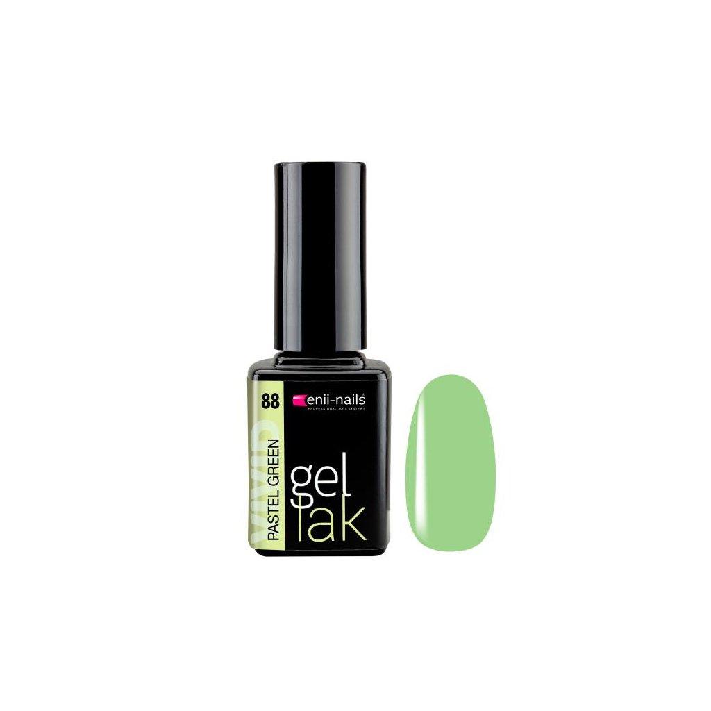 Gel polish 88. pastel green 11 ml