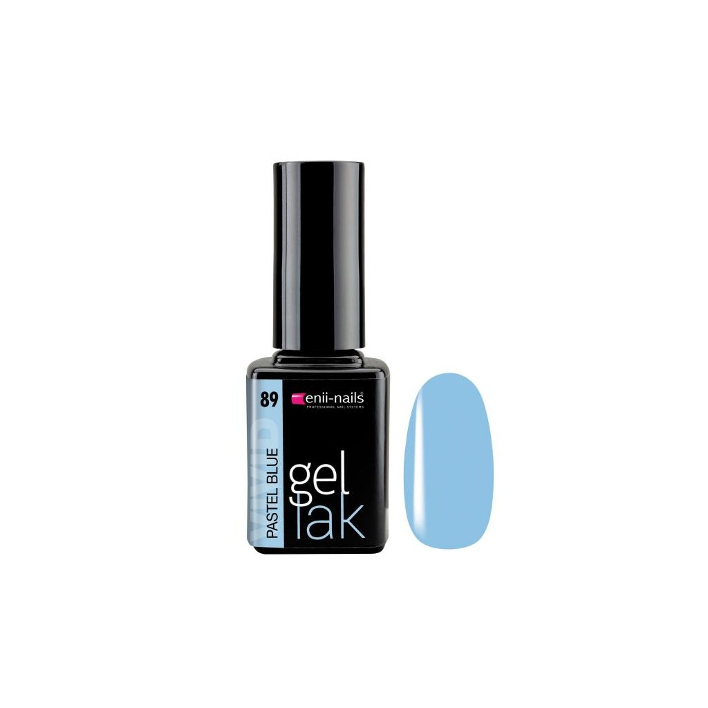 Gel polish 89. pastel blue 11 ml