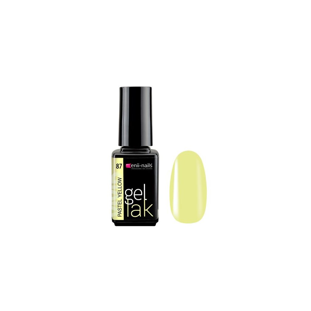 Gel polish 87. pastel yellow 5 ml