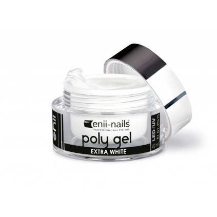 ENII POLY GEL - EXTRA WHITE 10 ML