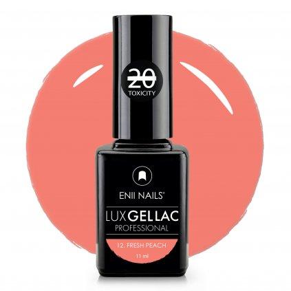 Lux Gel lac 12 Fresh peach