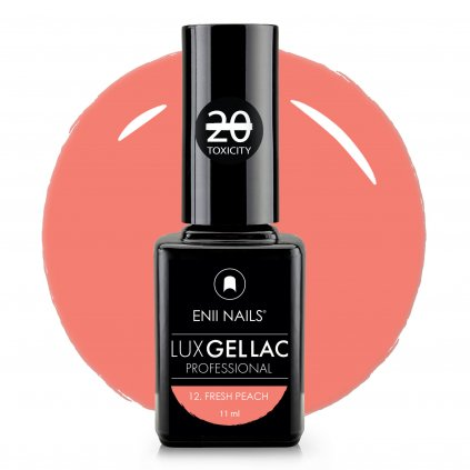 Lux Gel lac 12 Fresh peach