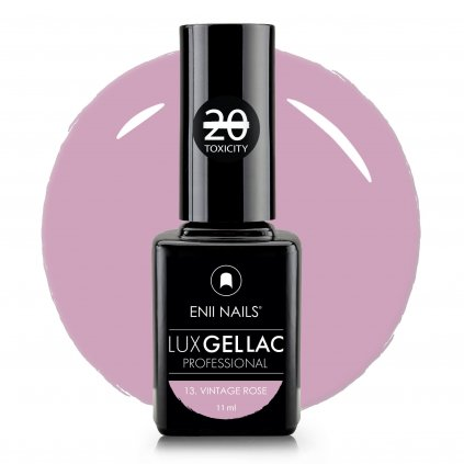 Lux Gel lac 13 Vintage rose