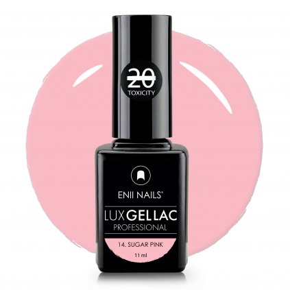 Lux Gel lac 14 Sugar pink